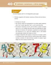 Libro Desafíos Matemáticos sexto grado Página 84