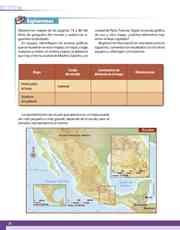 Libro Geografía sexto grado Página 22