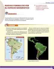 Libro Geografía sexto grado Página 33