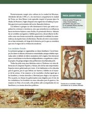Libro Historia sexto grado Página 43