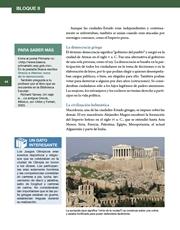 Libro Historia sexto grado Página 44