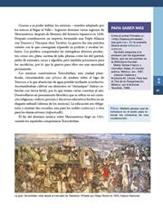 Libro Historia sexto grado Página 67