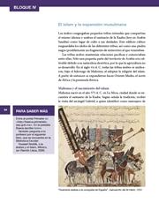 Libro Historia sexto grado Página 94