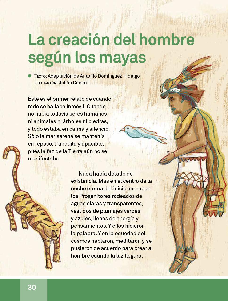 Español libro de lectura Tercer grado 2017-2018 – Página