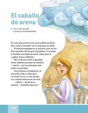 Libro Español libro de lectura tercero grado Página 100