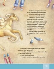 Libro Español libro de lectura tercero grado Página 103