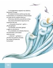 Libro Español libro de lectura tercero grado Página 106