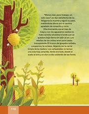 Libro Español libro de lectura tercero grado Página 110