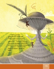 Libro Español libro de lectura tercero grado Página 115