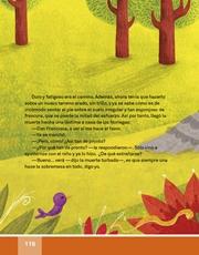 Libro Español libro de lectura tercero grado Página 116