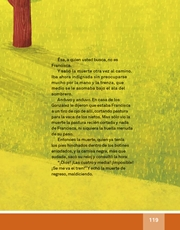 Libro Español libro de lectura tercero grado Página 119