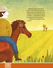 Libro Español libro de lectura tercero grado Página 120