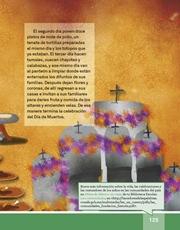 Libro Español libro de lectura tercero grado Página 125