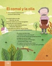 Libro Español libro de lectura tercero grado Página 126