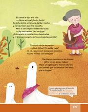 Libro Español libro de lectura tercero grado Página 127
