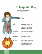 Libro Español libro de lectura tercero grado Página 128
