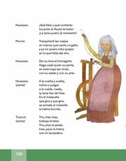 Libro Español libro de lectura tercero grado Página 130