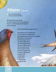Libro Español libro de lectura tercero grado Página 134