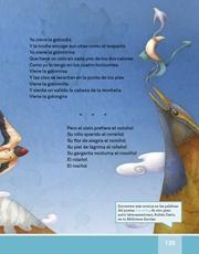 Libro Español libro de lectura tercero grado Página 135