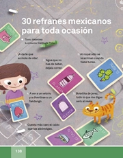 Libro Español libro de lectura tercero grado Página 138
