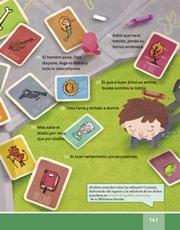 Libro Español libro de lectura tercero grado Página 141