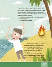 Libro Español libro de lectura tercero grado Página 147