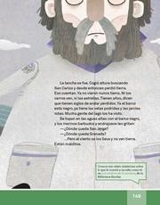 Libro Español libro de lectura tercero grado Página 149