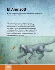 Libro Español libro de lectura tercero grado Página 150