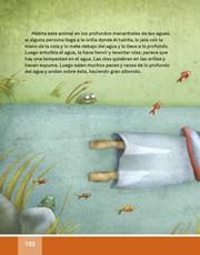 Libro Español libro de lectura tercero grado Página 152