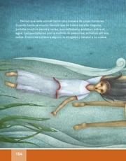 Libro Español libro de lectura tercero grado Página 154