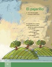 Libro Español libro de lectura tercero grado Página 18