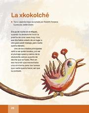 Libro Español libro de lectura tercero grado Página 26