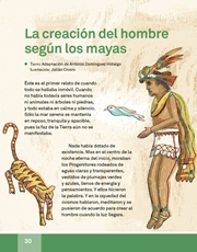 Libro Español libro de lectura tercero grado Página 30