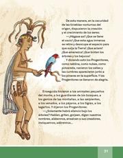 Libro Español libro de lectura tercero grado Página 31