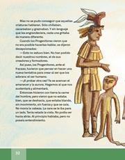 Libro Español libro de lectura tercero grado Página 32