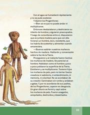 Libro Español libro de lectura tercero grado Página 33