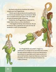 Libro Español libro de lectura tercero grado Página 34