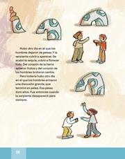 Libro Español libro de lectura tercero grado Página 38