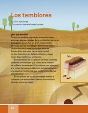 Libro Español libro de lectura tercero grado Página 40