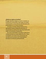 Libro Español libro de lectura tercero grado Página 44