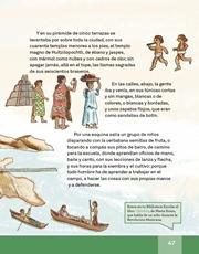 Libro Español libro de lectura tercero grado Página 47