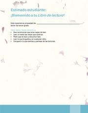 Libro Español libro de lectura tercero grado Página 5
