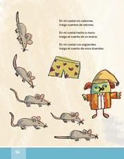 Libro Español libro de lectura tercero grado Página 54
