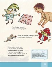Libro Español libro de lectura tercero grado Página 55