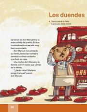 Libro Español libro de lectura tercero grado Página 56