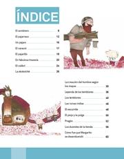 Libro Español libro de lectura tercero grado Página 6