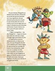 Libro Español libro de lectura tercero grado Página 62