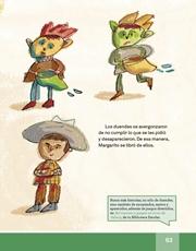 Libro Español libro de lectura tercero grado Página 63