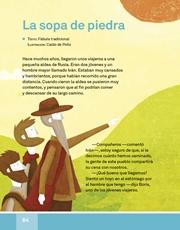 Libro Español libro de lectura tercero grado Página 64