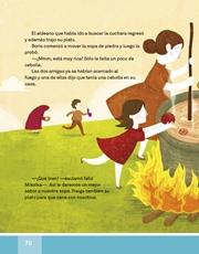 Libro Español libro de lectura tercero grado Página 70